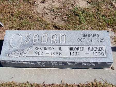 OSBORN, MILDRED - Brown County, Nebraska | MILDRED OSBORN - Nebraska Gravestone Photos