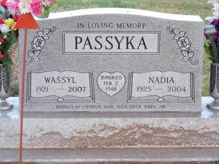 PASSYKA, NADIA - Brown County, Nebraska | NADIA PASSYKA - Nebraska Gravestone Photos