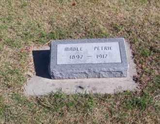 PETRIE, MABLE - Brown County, Nebraska | MABLE PETRIE - Nebraska Gravestone Photos