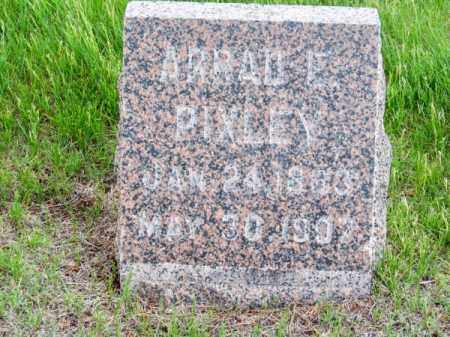 PIXLEY, ARRAD E. - Brown County, Nebraska | ARRAD E. PIXLEY - Nebraska Gravestone Photos