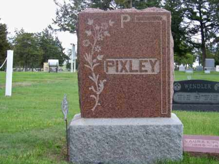 PIXLEY, FAMILY - Brown County, Nebraska | FAMILY PIXLEY - Nebraska Gravestone Photos