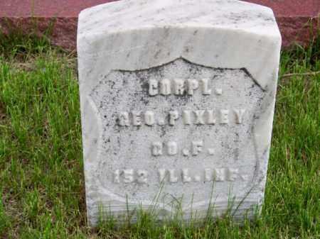 PIXLEY, GEO. P - Brown County, Nebraska | GEO. P PIXLEY - Nebraska Gravestone Photos