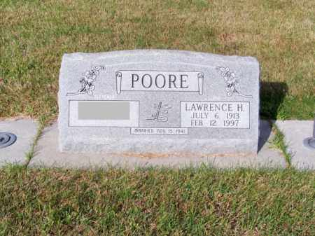 POORE, LAWRENCE H. (LINK) - Brown County, Nebraska | LAWRENCE H. (LINK) POORE - Nebraska Gravestone Photos