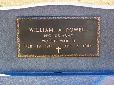 POWELL, WILLIAM A. - Brown County, Nebraska | WILLIAM A. POWELL - Nebraska Gravestone Photos