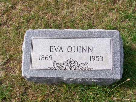 QUINN, EVA - Brown County, Nebraska | EVA QUINN - Nebraska Gravestone Photos