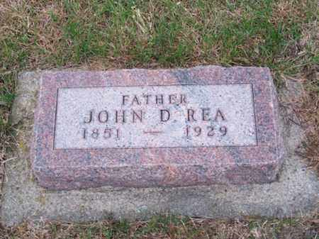 REA, JOHN D. - Brown County, Nebraska | JOHN D. REA - Nebraska Gravestone Photos