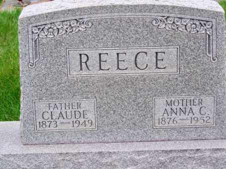 REECE, CLAUDE - Brown County, Nebraska | CLAUDE REECE - Nebraska Gravestone Photos
