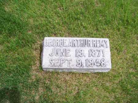 REMY, GEORGE ARTHUR - Brown County, Nebraska   GEORGE ARTHUR REMY - Nebraska Gravestone Photos