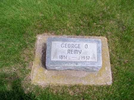 REMY, GEORGE O. - Brown County, Nebraska | GEORGE O. REMY - Nebraska Gravestone Photos