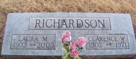 RICHARDSON, LAURA M. - Brown County, Nebraska | LAURA M. RICHARDSON - Nebraska Gravestone Photos