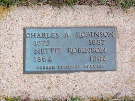 ROBINSON, NETTIE - Brown County, Nebraska | NETTIE ROBINSON - Nebraska Gravestone Photos