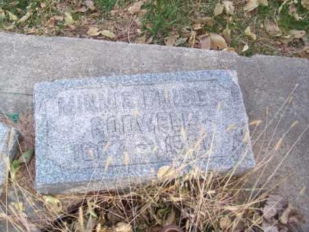 BRIGGS RODWELL, MINNIE - Brown County, Nebraska | MINNIE BRIGGS RODWELL - Nebraska Gravestone Photos