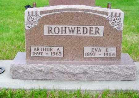 ROHWEDER, EVA E. - Brown County, Nebraska   EVA E. ROHWEDER - Nebraska Gravestone Photos