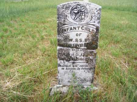 ROSENBERY, INFANT CHILD - Brown County, Nebraska | INFANT CHILD ROSENBERY - Nebraska Gravestone Photos