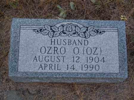 ROSS, OZRO O. (OZ) - Brown County, Nebraska   OZRO O. (OZ) ROSS - Nebraska Gravestone Photos