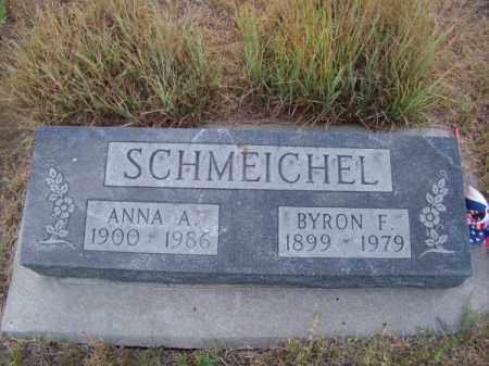 SCHMEICHEL, BYRON F. - Brown County, Nebraska   BYRON F. SCHMEICHEL - Nebraska Gravestone Photos