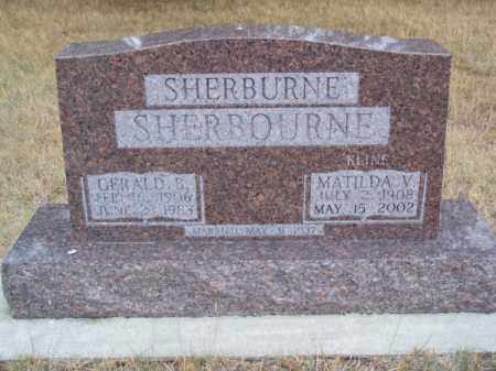 SHERBOURNE, GERALD B. - Brown County, Nebraska | GERALD B. SHERBOURNE - Nebraska Gravestone Photos