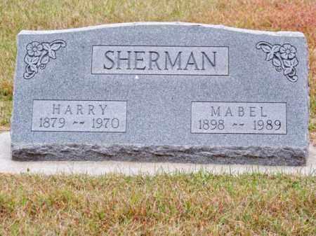 SHERMAN, HARRY - Brown County, Nebraska | HARRY SHERMAN - Nebraska Gravestone Photos