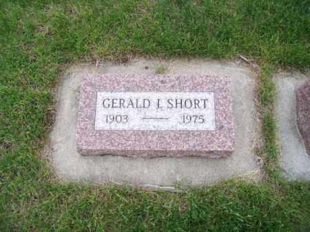 SHORT, GERALD I. - Brown County, Nebraska   GERALD I. SHORT - Nebraska Gravestone Photos