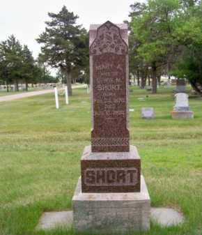 SHORT, MARY A. - Brown County, Nebraska | MARY A. SHORT - Nebraska Gravestone Photos