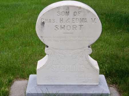 SHORT, STERLING - Brown County, Nebraska | STERLING SHORT - Nebraska Gravestone Photos