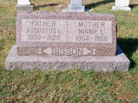 SISSON, AUGUSTUS L. - Brown County, Nebraska | AUGUSTUS L. SISSON - Nebraska Gravestone Photos