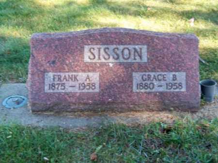 SISSON, GRACE B. - Brown County, Nebraska   GRACE B. SISSON - Nebraska Gravestone Photos
