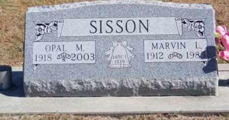SISSON, OPAL M. - Brown County, Nebraska | OPAL M. SISSON - Nebraska Gravestone Photos