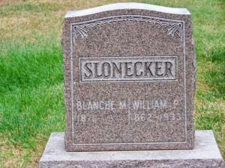 SLONECKER, BLANCHE M. - Brown County, Nebraska | BLANCHE M. SLONECKER - Nebraska Gravestone Photos