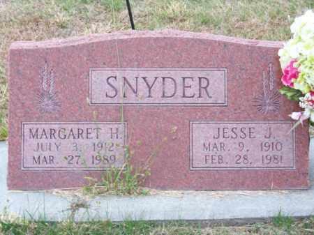 SNYDER, MARGARET H. - Brown County, Nebraska | MARGARET H. SNYDER - Nebraska Gravestone Photos