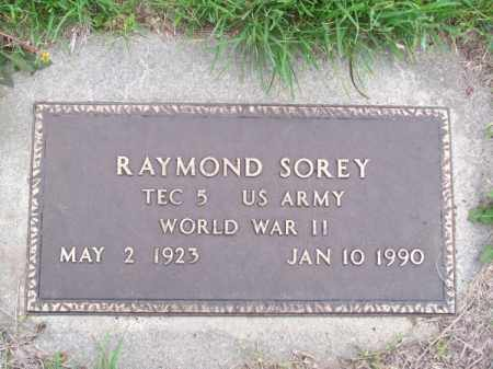 SOREY, RAYMOND - Brown County, Nebraska | RAYMOND SOREY - Nebraska Gravestone Photos