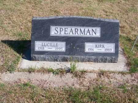 SPEARMAN, LUCILLE - Brown County, Nebraska | LUCILLE SPEARMAN - Nebraska Gravestone Photos