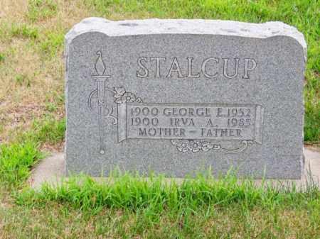 STALCUP, GEORGE E. - Brown County, Nebraska   GEORGE E. STALCUP - Nebraska Gravestone Photos