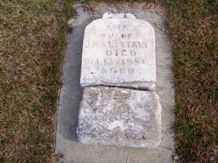 STALEY, AMA - Brown County, Nebraska | AMA STALEY - Nebraska Gravestone Photos