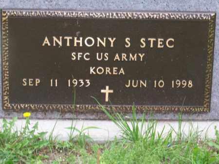 STEC, ANTHONY S. - Brown County, Nebraska | ANTHONY S. STEC - Nebraska Gravestone Photos