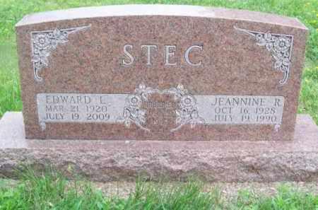 STEC, EDWARD L. - Brown County, Nebraska | EDWARD L. STEC - Nebraska Gravestone Photos