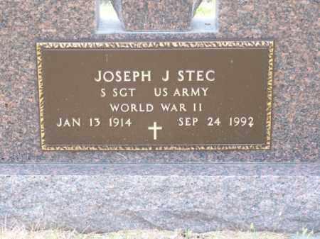 STEC, JOSEPH J. - Brown County, Nebraska | JOSEPH J. STEC - Nebraska Gravestone Photos