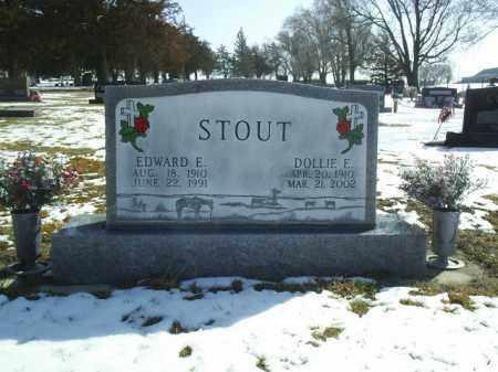 STOUT, EDWARD - Brown County, Nebraska   EDWARD STOUT - Nebraska Gravestone Photos