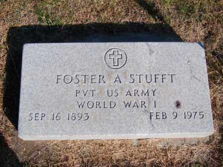 STUFFT, FOSTER A. - Brown County, Nebraska | FOSTER A. STUFFT - Nebraska Gravestone Photos