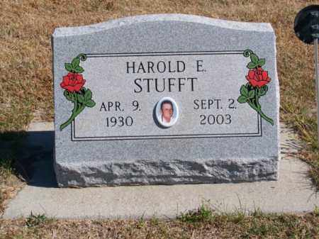STUFFT, HAROLD E. - Brown County, Nebraska | HAROLD E. STUFFT - Nebraska Gravestone Photos