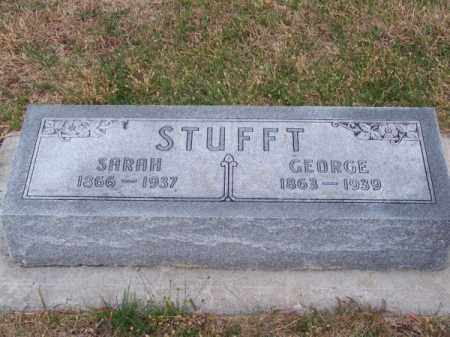 STUFFT, GEORGE - Brown County, Nebraska | GEORGE STUFFT - Nebraska Gravestone Photos