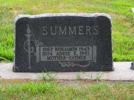 SUMMERS, BENJAMIN - Brown County, Nebraska   BENJAMIN SUMMERS - Nebraska Gravestone Photos