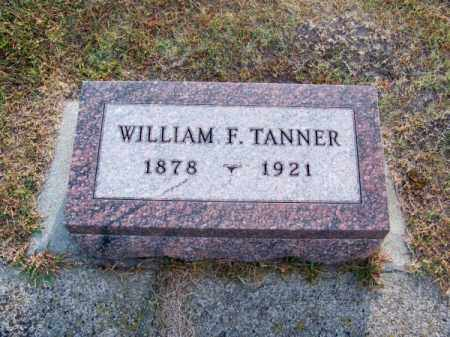 TANNER, WILLIAM F. - Brown County, Nebraska | WILLIAM F. TANNER - Nebraska Gravestone Photos