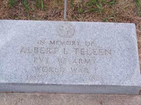 TELEEN, ALBERT L. - Brown County, Nebraska | ALBERT L. TELEEN - Nebraska Gravestone Photos