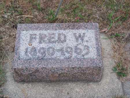 TELEEN, FRED W. - Brown County, Nebraska | FRED W. TELEEN - Nebraska Gravestone Photos