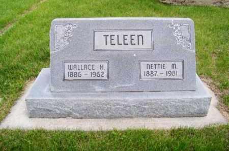 TELEEN, NETTIE M. - Brown County, Nebraska | NETTIE M. TELEEN - Nebraska Gravestone Photos
