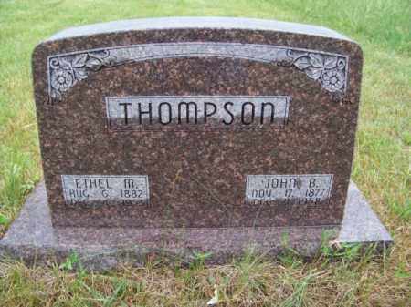 THOMPSON, JOHN B. - Brown County, Nebraska | JOHN B. THOMPSON - Nebraska Gravestone Photos