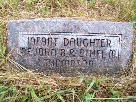 THOMPSON, INFANT DAUGHTER - Brown County, Nebraska   INFANT DAUGHTER THOMPSON - Nebraska Gravestone Photos