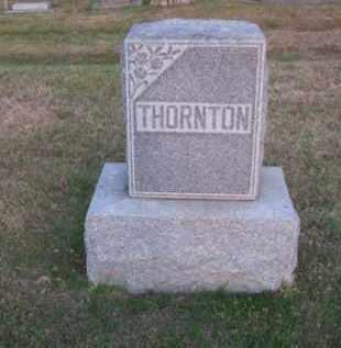 THORNTON, FAMILY - Brown County, Nebraska | FAMILY THORNTON - Nebraska Gravestone Photos