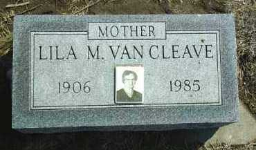 VAN CLEAVE, LILA - Brown County, Nebraska | LILA VAN CLEAVE - Nebraska Gravestone Photos